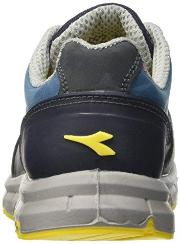 Diadora Run Low S3, Scarpe da Lavoro Unisex – Adulto Blu (Blu Scuro/Blu Cielo)