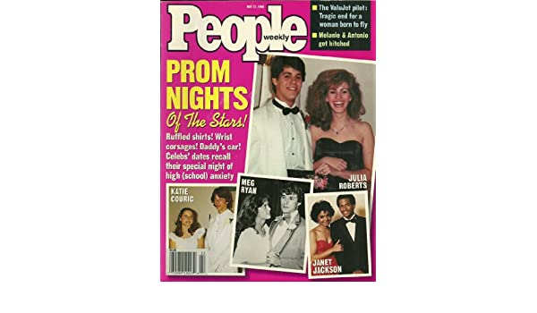 Prom Nights of the Stars: Julia Roberts, Janet Jackson, Meg Ryan, Katie Couric - May 27, 1996 People Magazine: Amazon.co.uk: Kitchen & Home