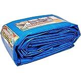 SHREE TARPAULINS Sheets Waterproof 100% Pure Virgin UV Treated 125 GSM Blue Plastic