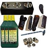 13 teiliges Starterset für Ethanol-Kamine