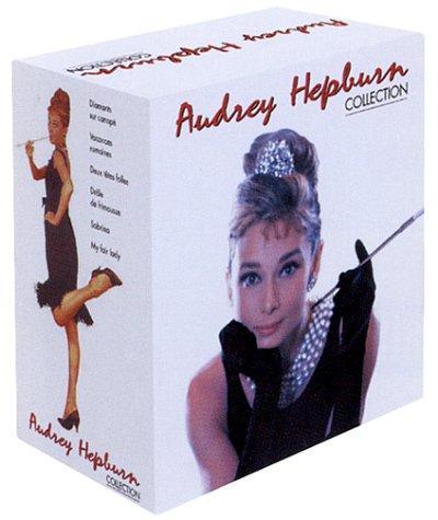 Coffret Audrey Hepburn 6 VHS : My Fair Lady / Diamants sur canapé / Vacances romaines / Deux têtes folles / Drôle de frimousse / Sabrina [FR Import]