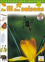 Au fil des saisons (1 livre + 1 CD audio)