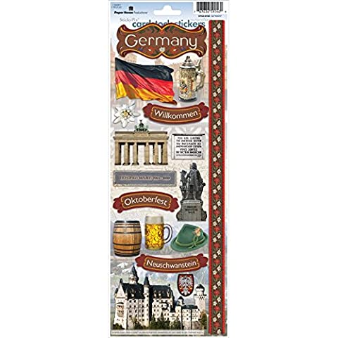 Paper House Productions Germany Cardstock Sticker Sheet