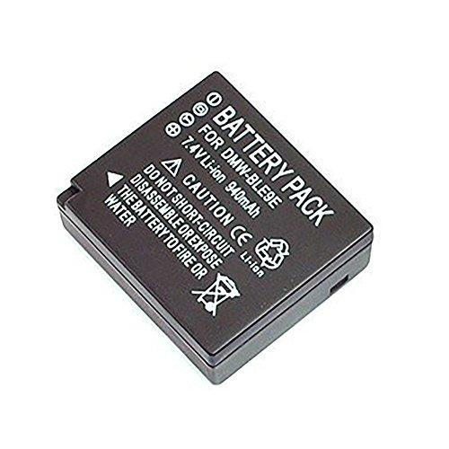 Mondpalast @ Remplacement Batterie DMW-BLG10 BLG10 BLE9E Li-ion type 940mah pour Panasonic Lumix DMC-GX80 GX80 DMC-GX85 GX85 DMC-GX7 GX7