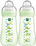 MAM 99957420 - Easy Active Baby Bottle 270 ml, Babyflasche, Doppelpack Neutral