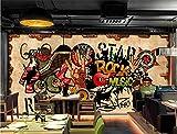 Murale Poster Mur De Briques Rétro Hip Hop Rock Papier Peint Poster Panoramique Déco Et Photo Murale Qualité HD