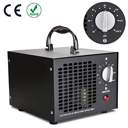 5000-OGS Ozongenerator 5000mg/h Ozon Luftreiniger mit Timer für Sterilisator Desinfektion für Autos Zimmer Haustiere