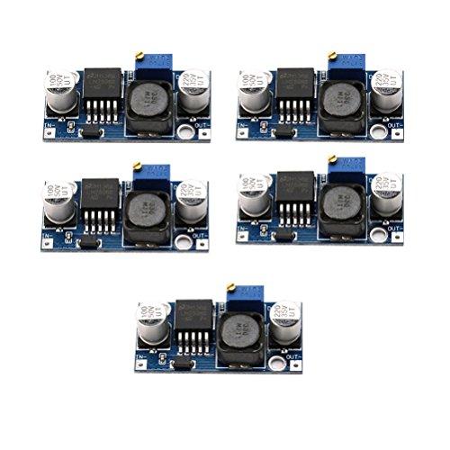 WINOMO LM2596 1.23-30V DC DC-Einstellbare Spannung Regler Konverter Schritt nach unten Module 5St Schaltregler