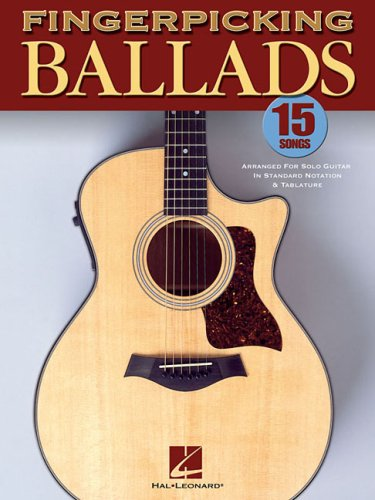 Fingerpicking Ballads Guitare por Divers Auteurs