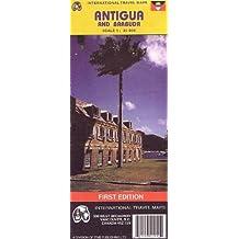 Antigua and Barbuda (Travel Reference Map)