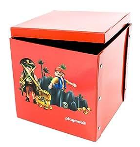 playmobil 064600 ameublement et d coration bo te de jeu et de rangement pirates amazon. Black Bedroom Furniture Sets. Home Design Ideas