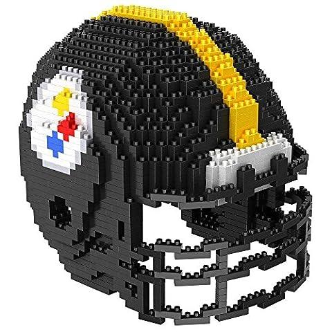 Pittsburgh Steelers NFL Football Team 3D BRXLZ Helm Helmet Puzzle