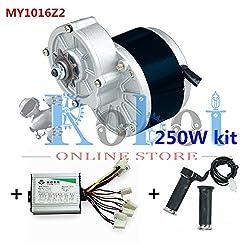 24V Motor My1016 250Wz2 Motor Controller Twist Throttle, Diy Electric Bicycle Kit