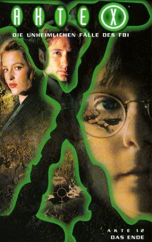 Akte X - Akte 12: Das Ende (+ Akte X intern) [VHS]
