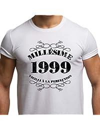 T-Shirt Anniversaire Homme 18 Ans Millésime 1999