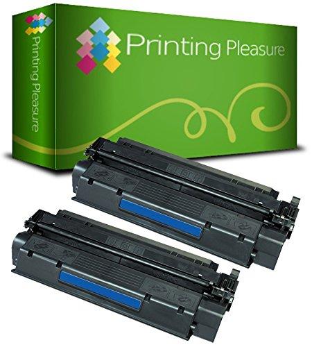 Laserjet 3380 Serie (PRINTING PLEASURE 2 Toner kompatibel für HP Laserjet 1000 / 1005 / 1200 / 1220 / 1300 / 3080 / 3300 / 3310 / 3320 / 3330 / 3380 / Canon LBP-1210 / LBP-558 Serie / C7115A / 15A / Q2613A / 13A / EP-25 Schwarz / Black)