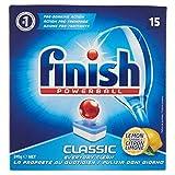 Finish PowerballClassic Zitrone,2Packungen à 15Tabs, 558g, 30 Tabs