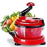 HNBGY Excelente Procesador de Alimentos Manual, procesador de Alimentos multifunción Cocina Manual Mezclador de Alimentos Mezclador Ensalada