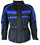 1152 Bangla Motorradjacke Tourenjacke Schwarz Blau M