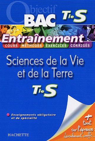 Sciences de la Vie et de la Terre Tle S Enseignement obligatoire et de spécialité