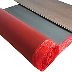 Laminate Impact sound insulation uficell Multisound Aquastop - thickness: 2 mm with PE foil / steam barrier - impact sound insulation approx. 22 db - walking sound improvement approx. 20%