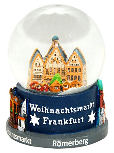 30018 souvenir palla di neve germania natale mercato frankfurt