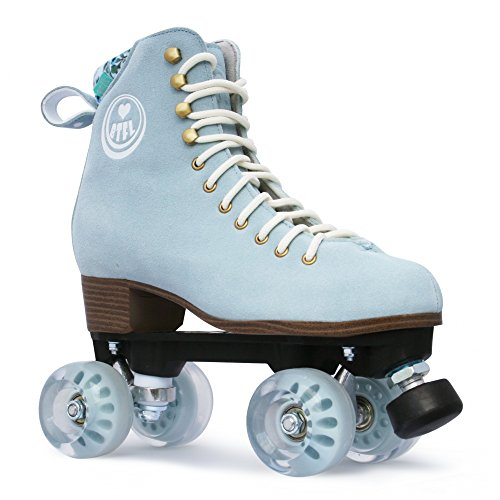 BTFL Trends- Rollschuhe Romy, für Damen, Mädchen, Discoroller, Rollerskates,Blau,EU: 40