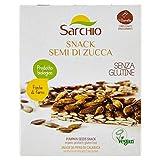 Sarchio Snack Semi di Zucca - Biologico  - Senza glutine - 6 Confezioni da 80 g