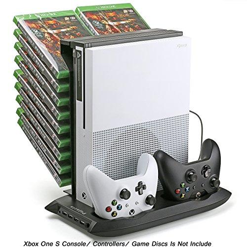 Pojazia Xbox One S Soporte vertical de ventilador de refrigeración del controlador...