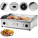 Summile LD-820A grill plate electric 4400W Kontaktgrill Silber Sandwich Press Grill 73cm Gastronomy Grill Edelstahl commercial grillplatten