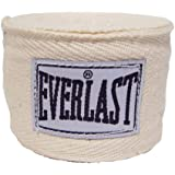 """EVERLAST HAND WRAPS-CTN/POLY NATURAL LEVEL 1 120"""""""