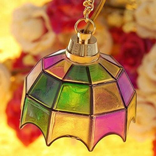 SUOSI Miniatur-Puppenhaus Bunte Deckenlampen-Licht-Droplight (Kunststoff-drop-decke)