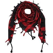 a9f56c088703 Freak Scene® Foulard palestinien keffieh en coton - motifs étoile - 100 x  100