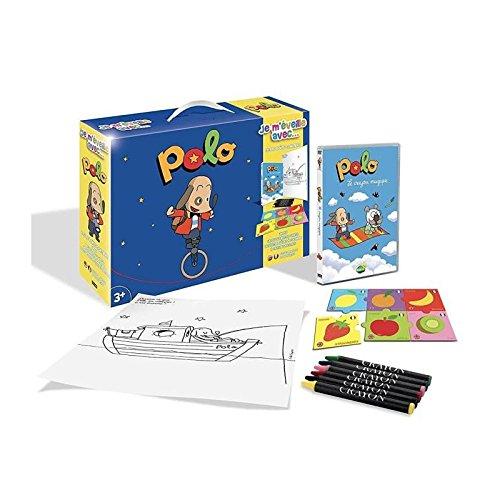 Polo - Je m'éveille avec... (DVD+Puzzle+6 Crayons pastels + Poster)