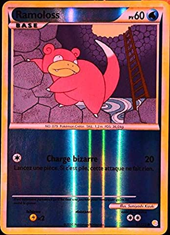 carte Pokémon 81/123 Ramoloss 60 PV - REVERSE Série HeartGold