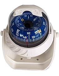 SODIAL(R)Gross K LED Kugelkompass Bootskompass Schiffskompass Kompass Navigation Kompass Weiss