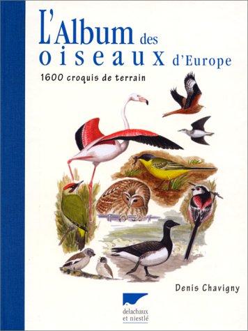 L'album des oiseaux d'Europe