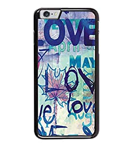Love Months Back Case Cover for APPLE I PHONE 6S