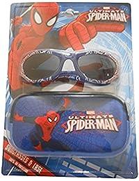 Spiderman Children's Sunglasses & Case Set