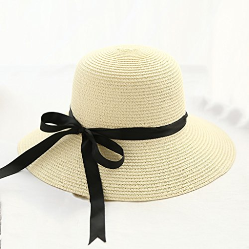 chapeau de soleil Chapeau de plage Sunscreen Ladies Curled Breathable Sun Hat ( Couleur : #5 ) #7