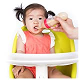 #8: Nuby Garden Fresh Silicone Squeeze Feeder With Spoon and Hygienic Cover