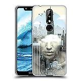 Head Case Designs Offizielle Vin Zzep New York City Shift Doppelte Aussetzung Soft Gel Hülle für Nokia 5.1 Plus / X5