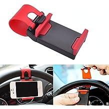 1 x Soporte para teléfono móvil para Auto volante Smartphone Teléfono Móvil Soporte universal cliphalterung Estable