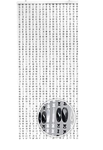 Kobolo Moderner Türvorhang Perlenvorhang Pearl 90x200 cm