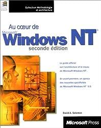 AU COEUR DE WINDOWS NT. 2ème édition (Méthodologie Architecturale)