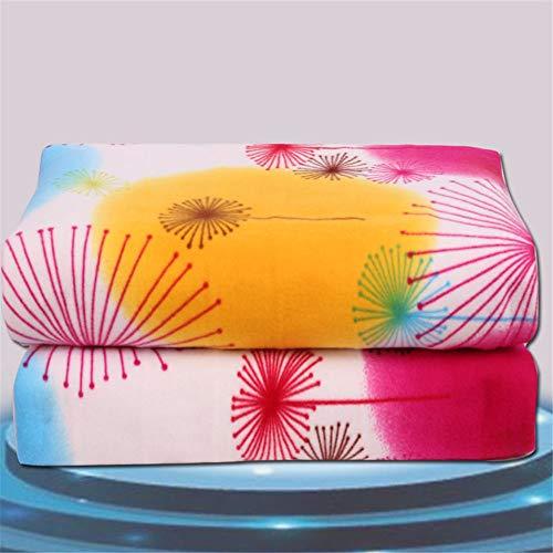 (BLACK ELL 150x70cm Heizdecke Einzelbett Heizung Elektrisches Bett Beheizte Teppichheizung M, 5)