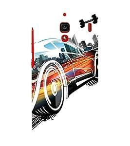 EPICCASE Fast Car Mobile Back Case Cover For Xiaomi RedMi 1S (Designer Case)
