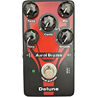 Aural Dream Detune Guitar Pedal with 4 modes detune effects and 4 adjustable Cents pitchshifter,similar to Chorus,True bypass