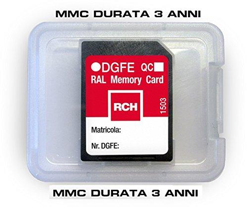 Elektronisches Logbuch DGfE MMC Triennale für Registrierkasse RCH MCT Kos Zenith (Logbuch Elektronische)