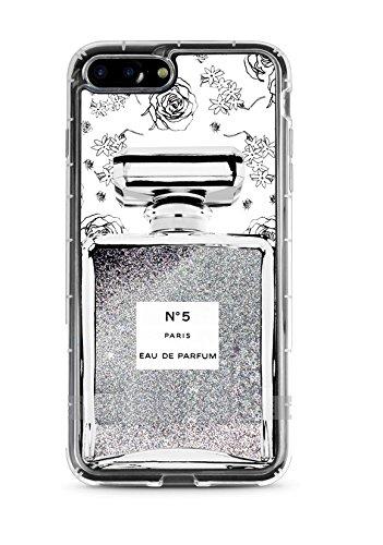 Casetic | iPhone SE Schutzhülle Durchsichtig Transparent TPU Hülle Cover Handyhülle Bumper leichte Handytasche Hülle mit Foto Silikon Case Hüllen sorgen für kratzfesten Schutz (iPhone SE, Transparent) Parfum